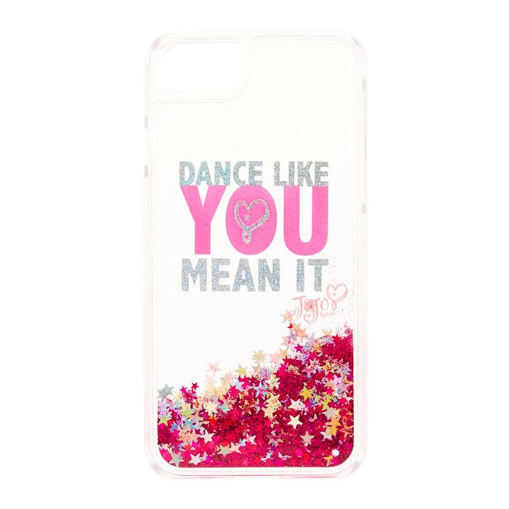 Coque de portable pailletée «Dance Like You Mean It» JoJo Siwa™ - Compatible avec iPhone 6/7/8/SE,
