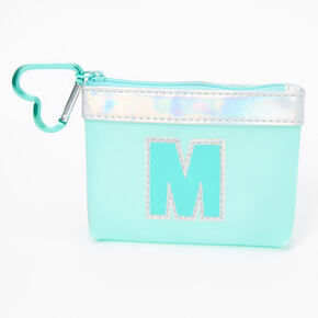 Blue Initial Coin Purse - M,