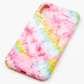 Pastel Rainbow Marble Phone Case - Fits iPhone XR,
