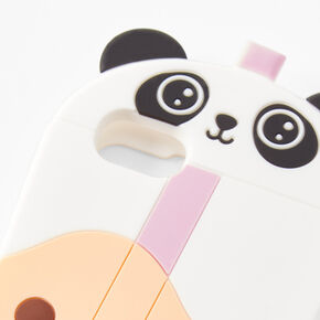 Panda Bubble Tea Silicone Phone Case - Fits iPhone® 6/7/8/SE,