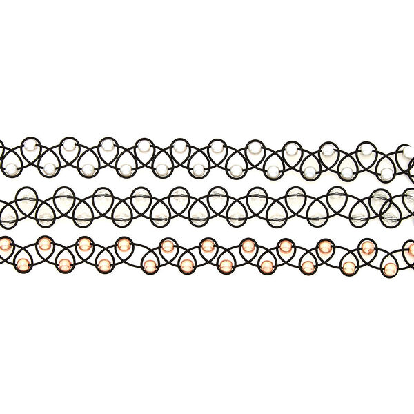 Claire's - beaded tattoo chokers - 2