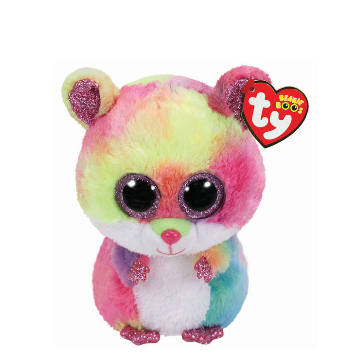 3529fc61dce Ty Beanie Boo Small Rodney the Hamster Soft Toy