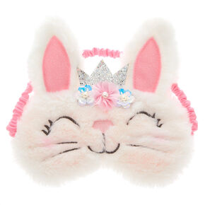 Claire's Club Claire the Bunny Floral Sleeping Mask,