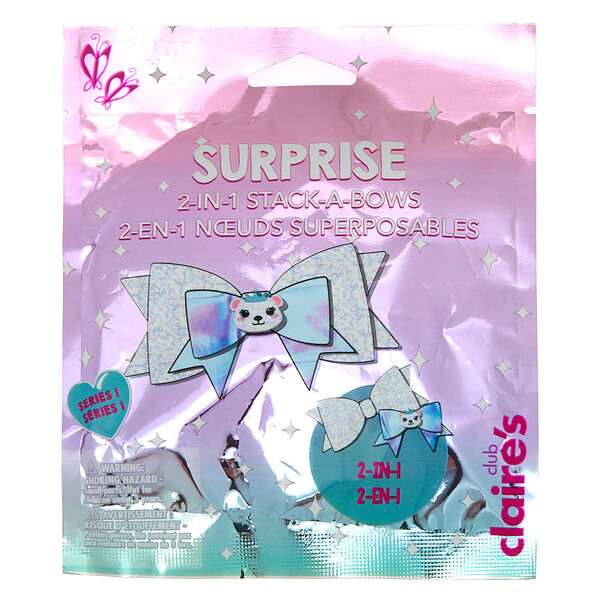 Claire's - club2-in-1 bows blind bag - 1
