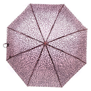 Leopard Umbrella - Pink,