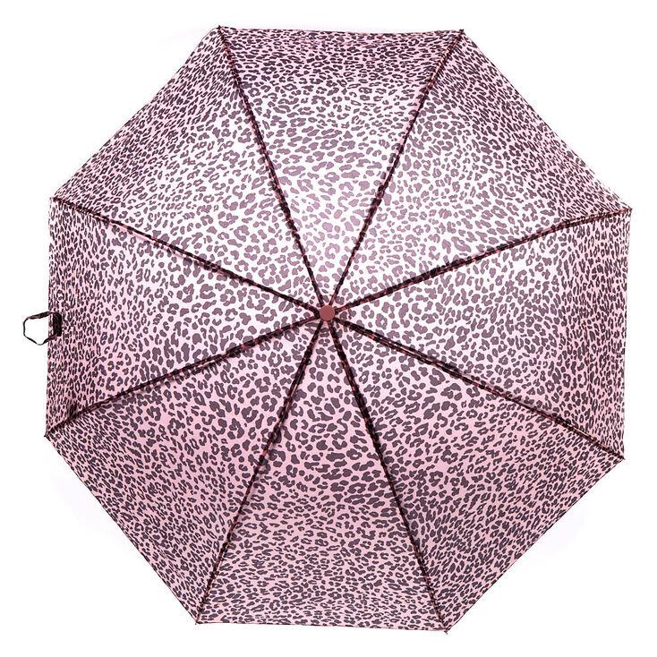 Leopard Umbrella - Pink,