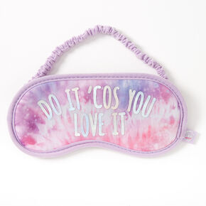 Sky Brown™ Do It 'Cos You Love It Sleeping mask – Lilac,