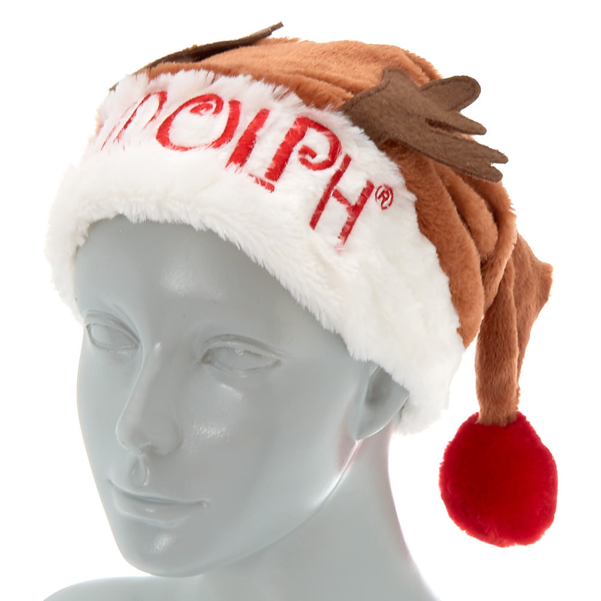 2f8d6fac7f741 ... Rudolph the Red-Nosed Reindeer Santa Hat