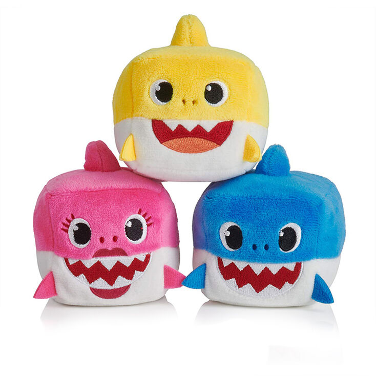 Pinkfong Baby Shark Plush Cube Toy - Styles May Vary,