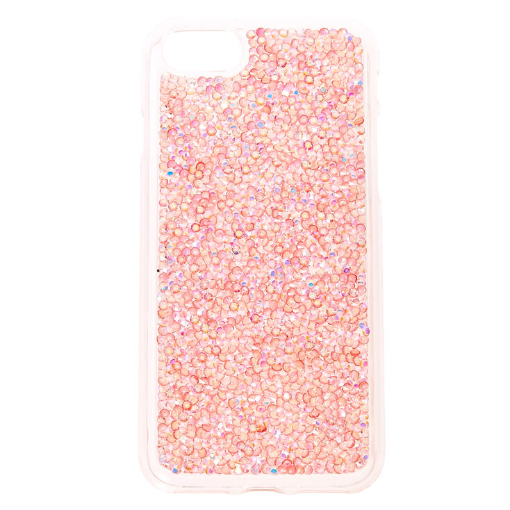 release date: 16b2f 310ad Blush Pink Crushed Crystal Phone Case