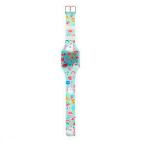 Summer Unicorn LED Watch - Mint,