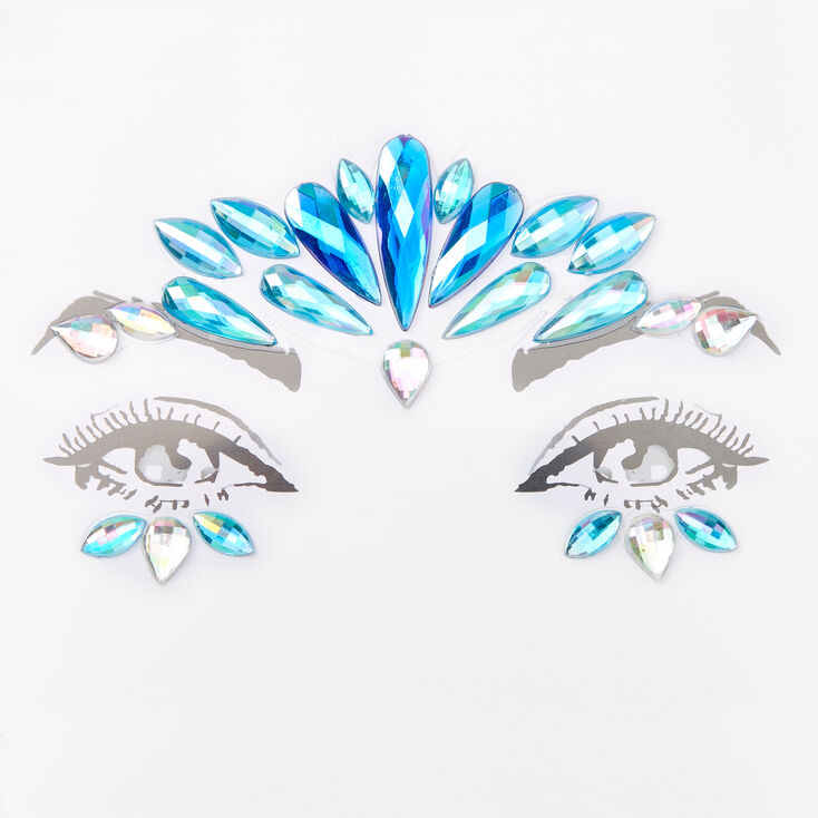 Bijoux de front - Bleu,