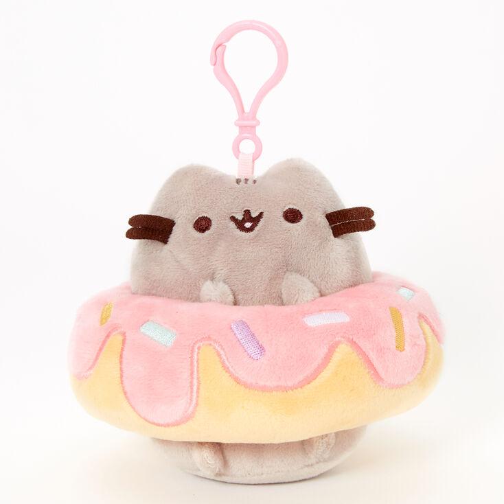 Pusheen® Donut Keyring Clip – Gray,