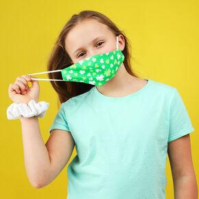 Cotton Shamrock Face Masks - Adult,