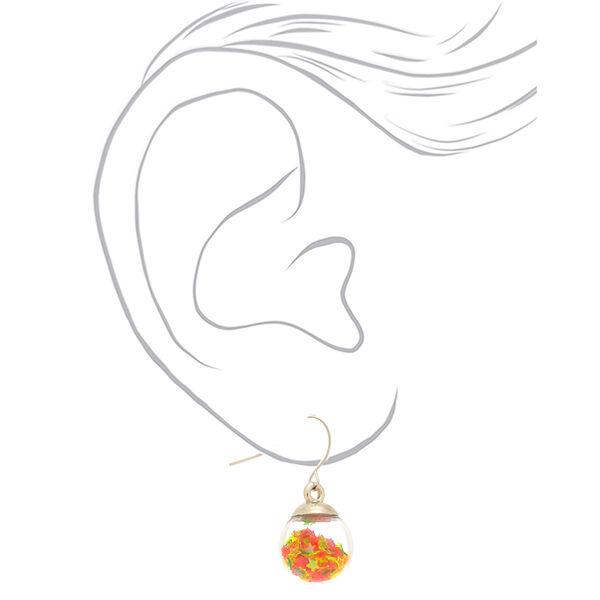 Claire's - seasonal star shaker drop earrings - 2