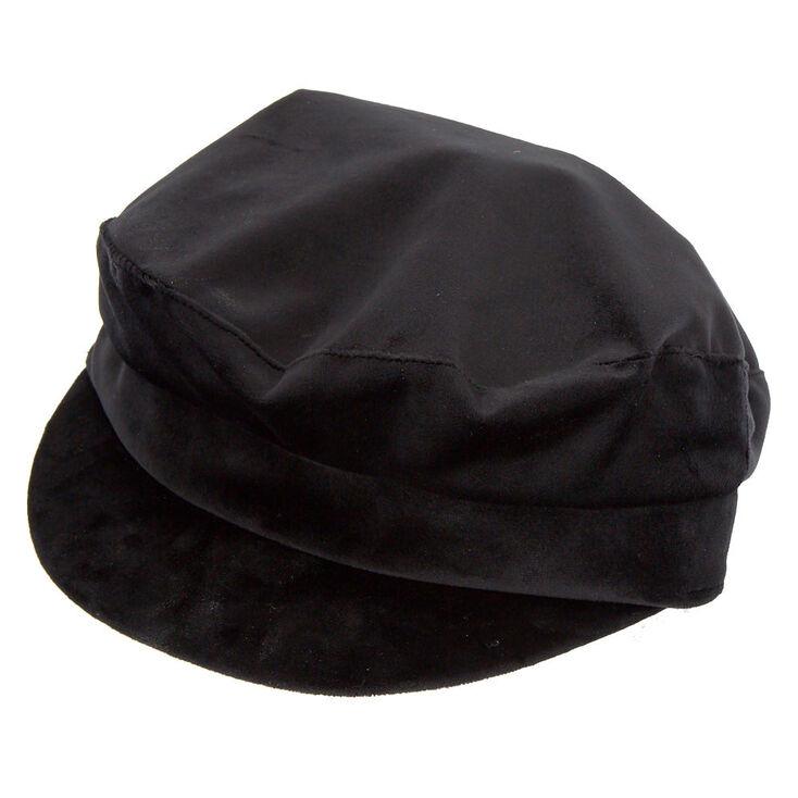f633145f6 Velvet Captain Hat - Black