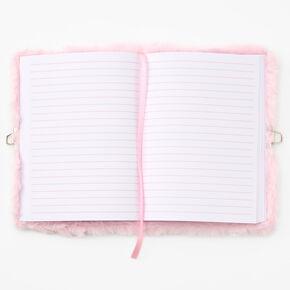 Miss Glitter the Unicorn Plush Lock Diary - Icy Pink,