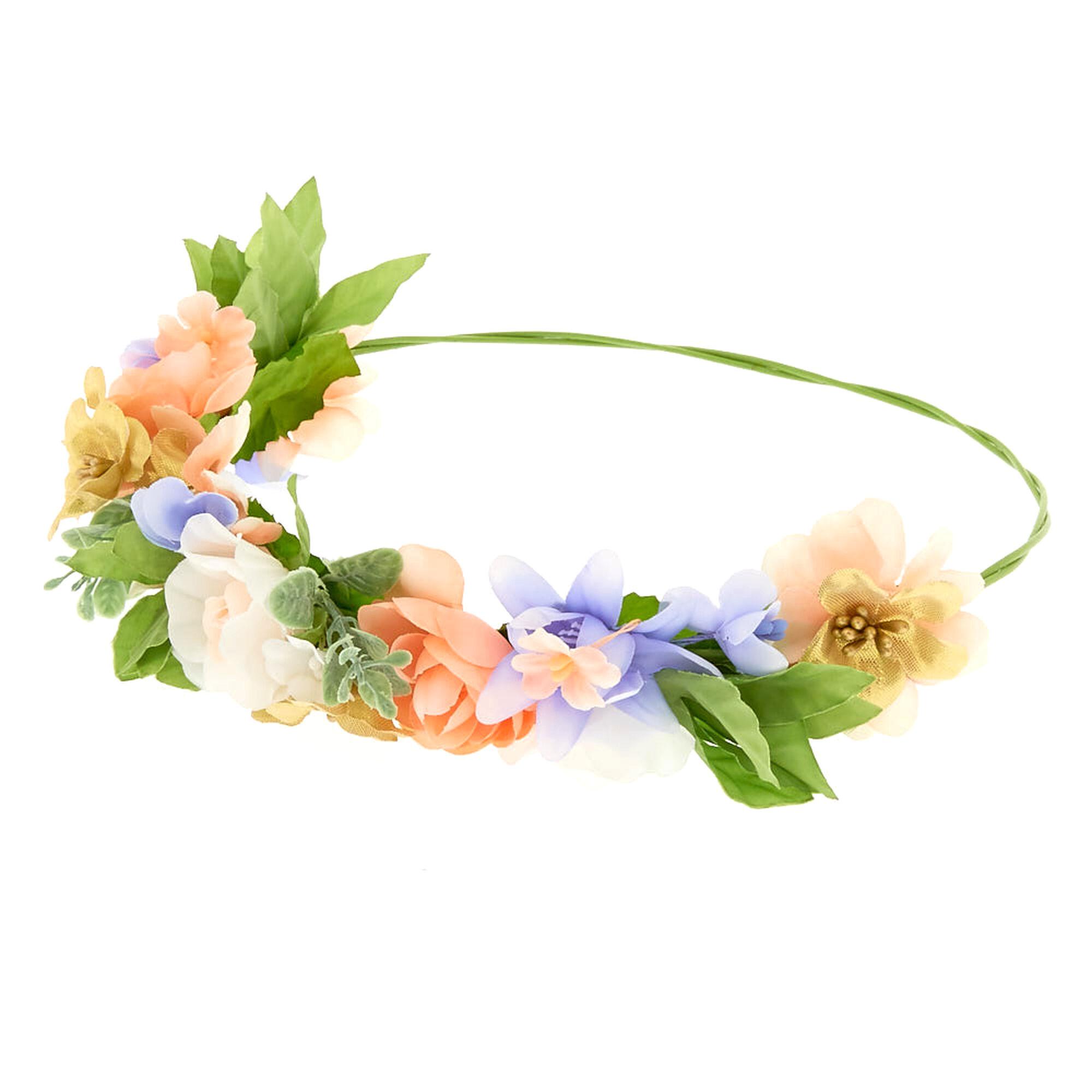 Spring mix flower crown claires spring mix flower crown izmirmasajfo