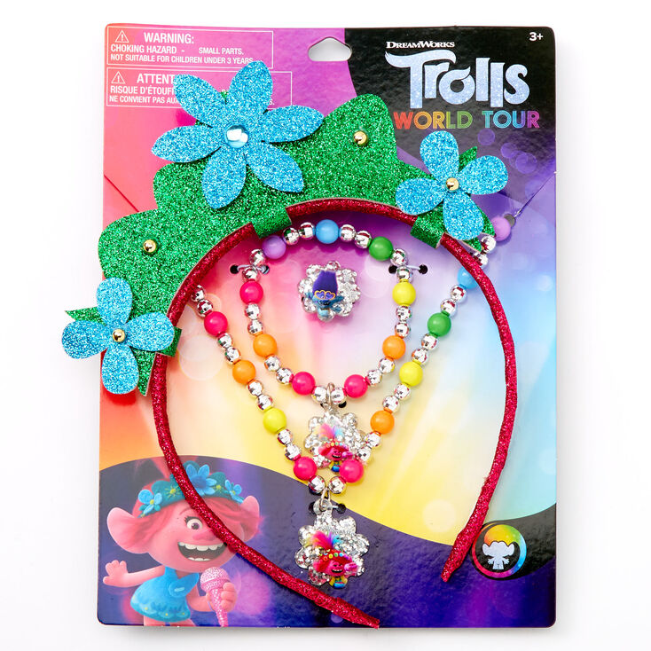 Trolls World Tour Poppy Dress Up Set - 4 Pack,