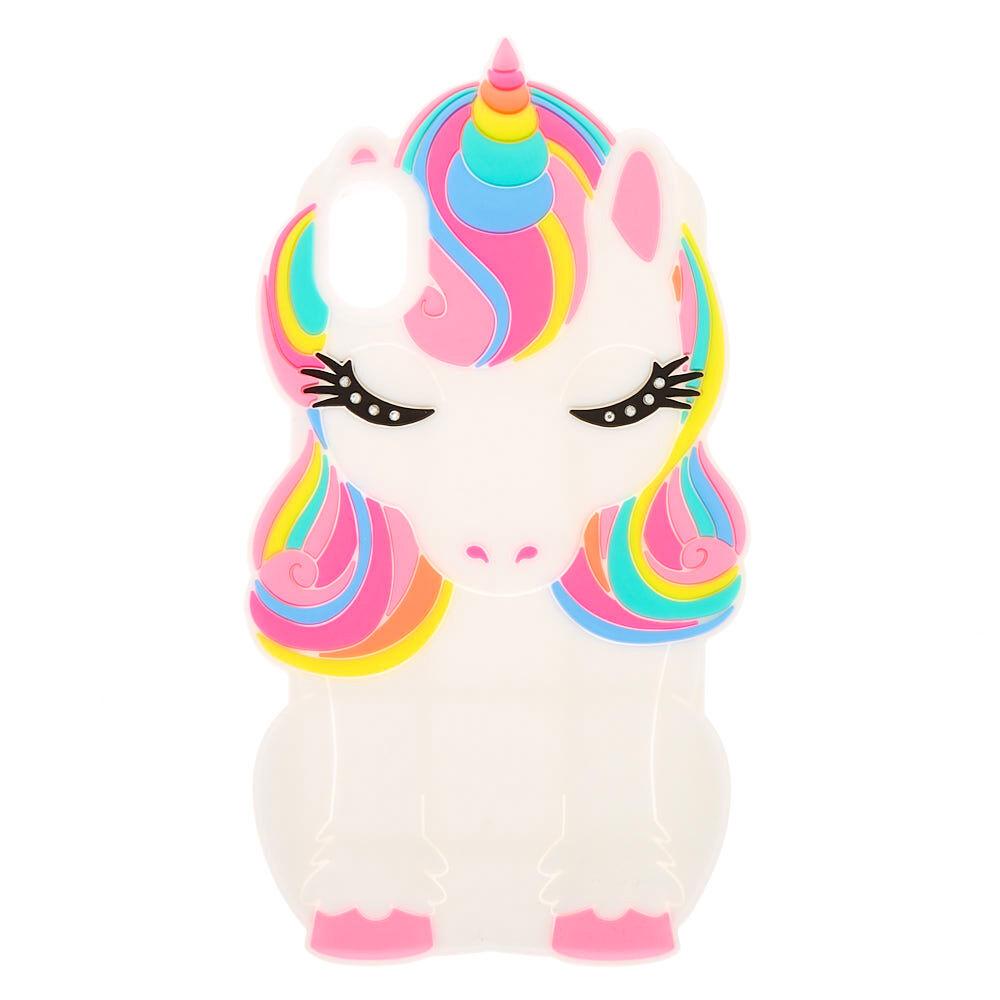 unicorn glitter case iphone xr case