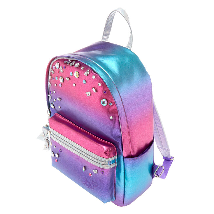 JoJo Siwa™ Metallic Ombre Gem Medium Backpack,