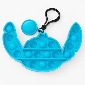 Pop Poppers ©Disney Stitch Fidget Toy Keychain - Blue,