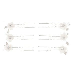 Pearl Flower Hair Pin,
