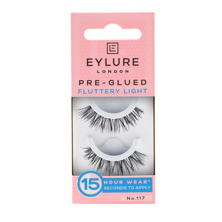 Eylure Fluttery Light No. 117 Pre-Glued False Lashes,