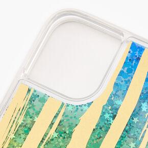 Rainbow Star Glitter Phone Case - Fits iPhone® 11,
