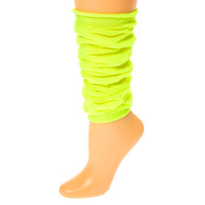 Neon Leg Warmers - Yellow,