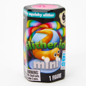 Slither.io Mystery Mini Squishy Slither Blind Box - Styles May Vary,