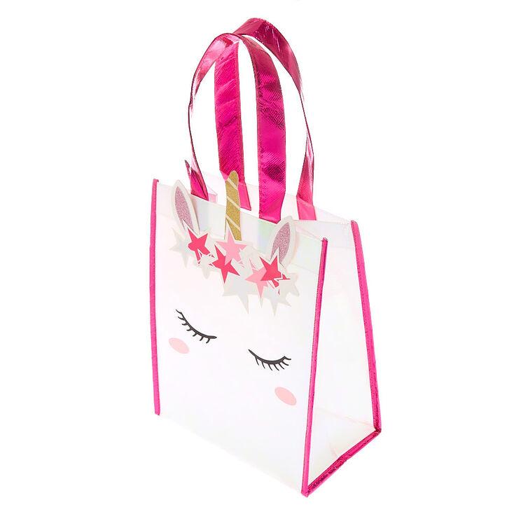 Unicorn Tote Bag - Pink,