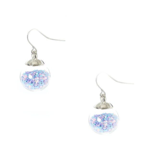 Claire's - pastel confetti shaker drop earrings - 1