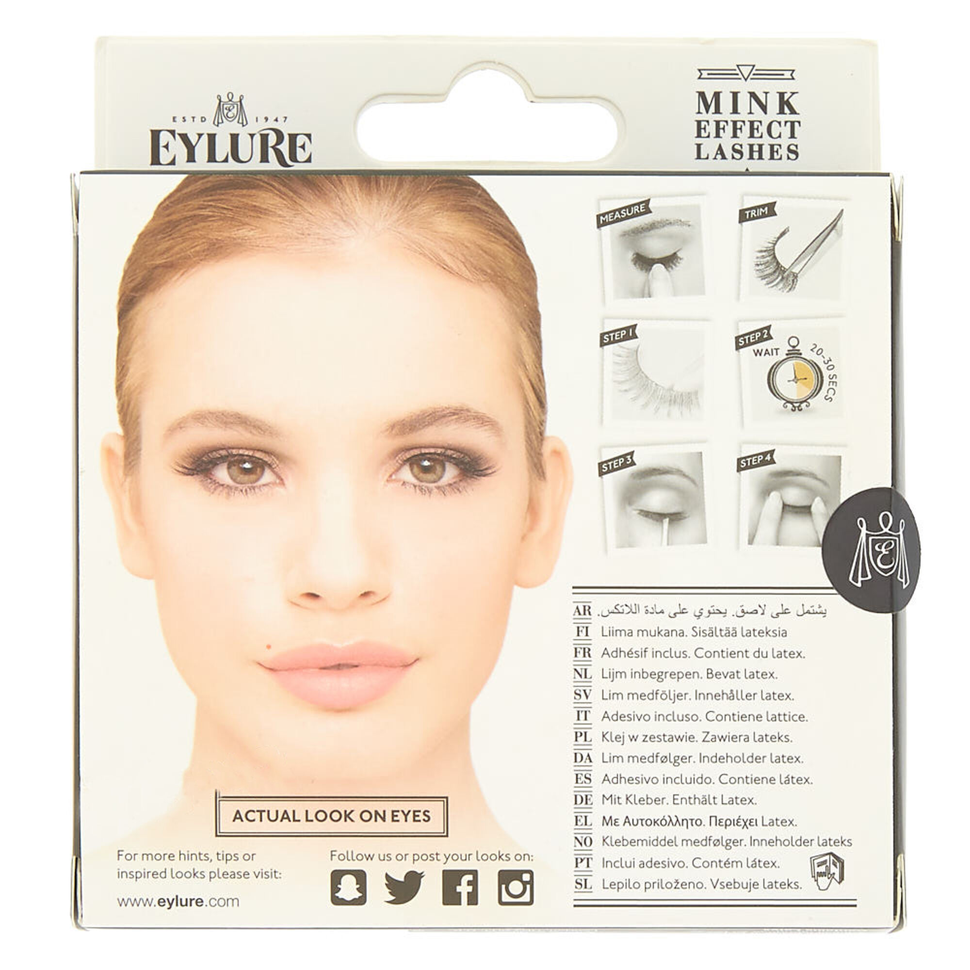 5700b4824e6 Eylure Luxe Cameo Mink Effect False Lashes | Claire's US