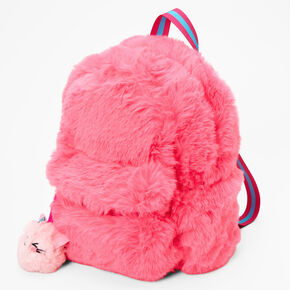 Kitty Candy Furry Backpack - Pink,