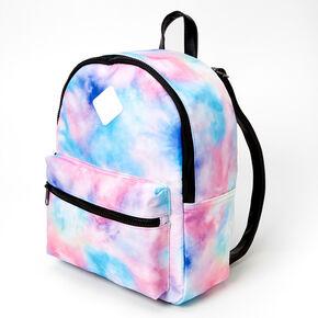 Pastel Tie Dye Medium Backpack,