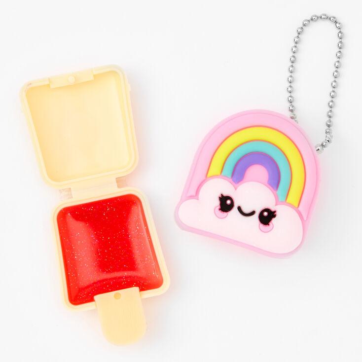Pucker Pops Rainbow Cloud Lip Gloss - Cherry,