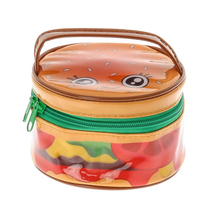 Hamburger Cosmetic Bag