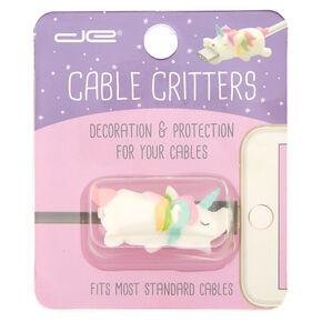 Unicorn Cable Critter - White,