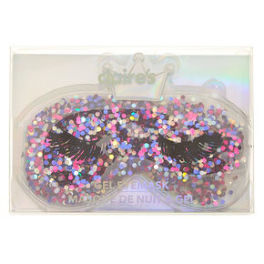 Go to Product: Queen Glitter Cooling Gel Eyemask - Purple from Claires