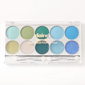 Cool Tone Glitz Glitter & Shimmer Eyeshadow Palette,
