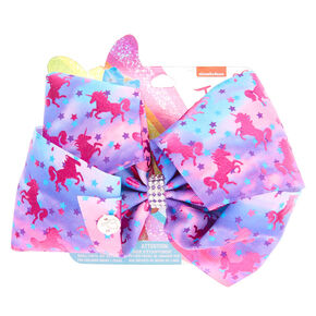 JoJo Siwa™ Large Unicorn Wonder Signature Hair Bow - Purple aa89a2a3d3