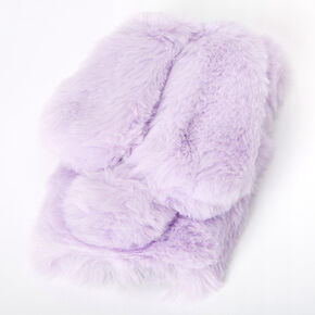 Purple Fur Bunny Phone Case - Fits iPhone 5/5S,