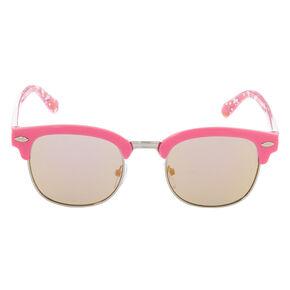 410b02faf6 Claire s Club Unicorn Rainbow Sunglasses - Pink