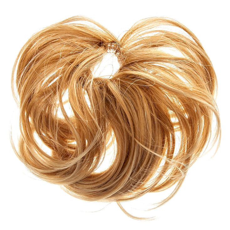 Faux Hair Twister Hair Tie Blonde Claire S