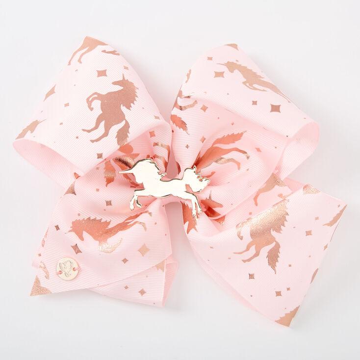 JoJo Siwa™ Large Rose Gold Girly Signature Hair Bow,