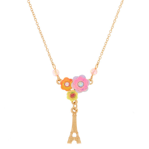 Claire's - holographic parisian pendant necklace - 1