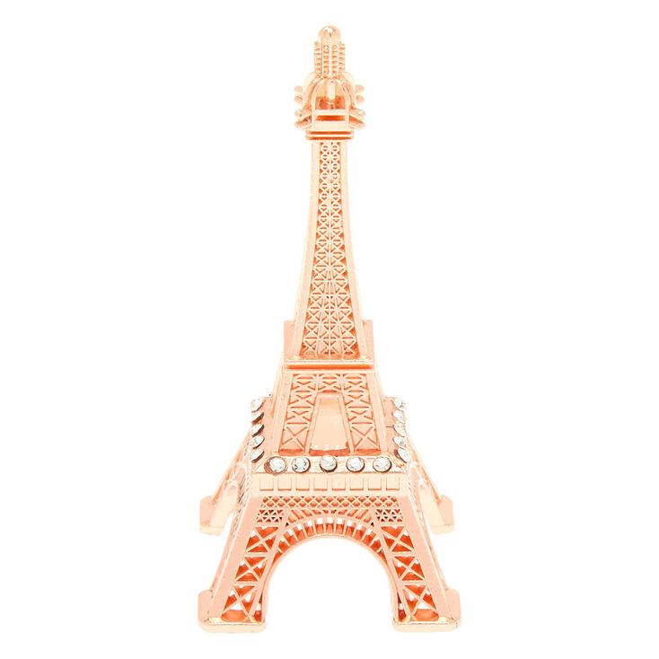 Eiffel Tower Ring Holder - Rose Gold,