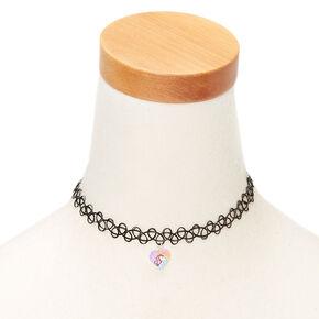 Miss Glitter the Unicorn Tattoo Choker Necklace,