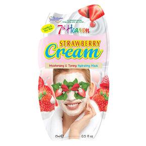 Masque pour le visage soufflé à la fraise de 7th Heaven,